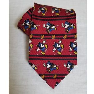 Mickey Mouse Football Tie